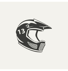 paintball mask Black and white vector image
