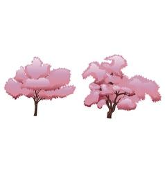 Sakura Tree2 vector image vector image