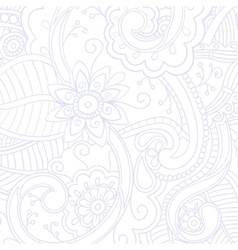 Background with doodle pattern vector