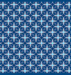 Blue islamic pattern ornament image vector