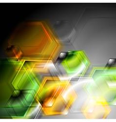 Colourful hi-tech background vector