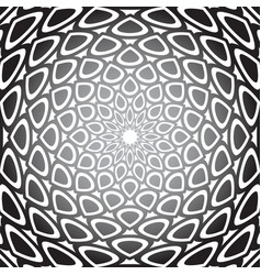 Convex circle pattern vector
