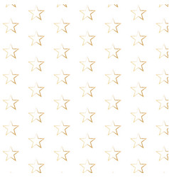 gold star background seamless vector image