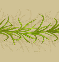 lemongrass pattern vector image