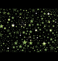 Stars seamless pattern magic star pattern outer vector