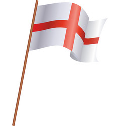 the flag of england vector image