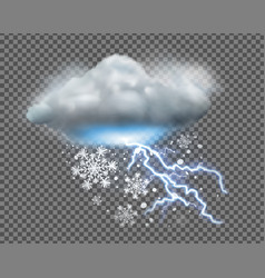 weather icon vector image
