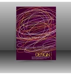 Flyer Design - Business vector image vector image