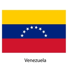 Flag of the country venezuela vector image vector image