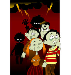 bad children vector image