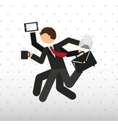 Businessman concept design vector