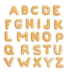 chrictmas cookies vector image