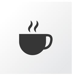 cup icon symbol premium quality isolated tea vector image