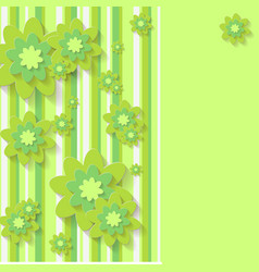 flowernice peach blossom isolated japanese floral vector image