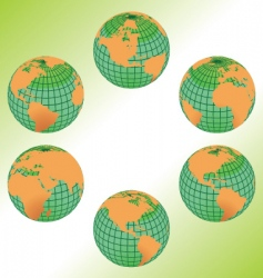 geography maps vector image