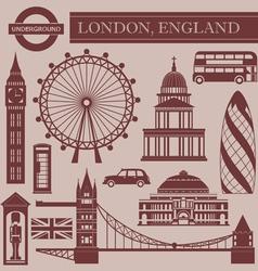Landmark london vector