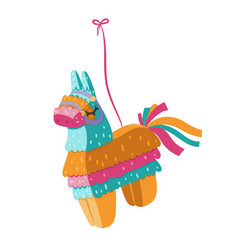 pinata isolated on a white background graphics vector image