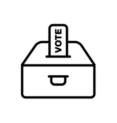 Vote polling vector