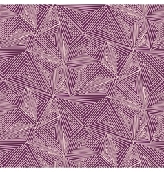 Artistically contemporary pattern Hand vector image vector image