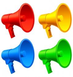 megaphones vector image