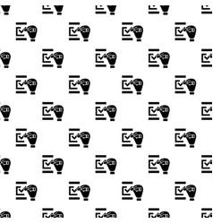 check mark pattern seamless vector image