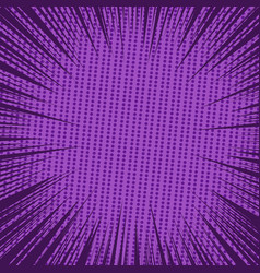 comic book page purple background vector image