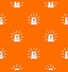 Flashing emergency light pattern seamless vector