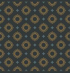 monogram seamless pattern vector image