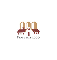 Real-state-logo-design vector