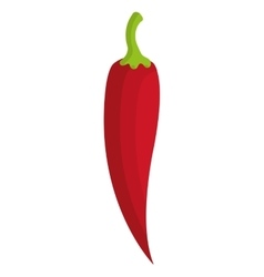 Red jalapeno graphic vector