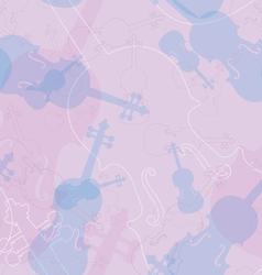 Violin pattern vector