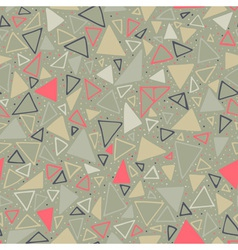 Geometric pattern Seamless background with vector image vector image