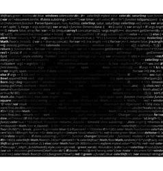 Abstract program code vector image