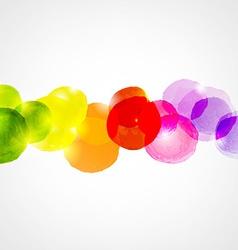 Watercolor border vector