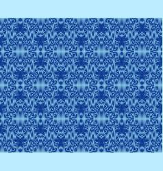 Indigo dyed textile seamless pattern repeatable vector