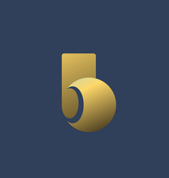 Letter b logo icon design template elements vector