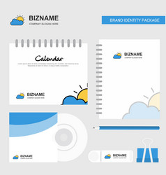 raining logo calendar template cd cover diary and vector image