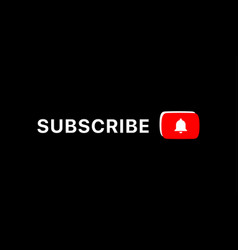Youtube subscribe title youtube lower third vector
