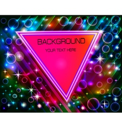 abstract background with a triangle vector image