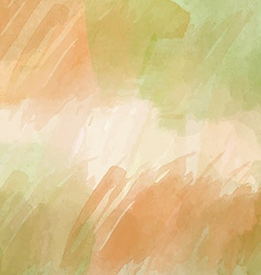 Autumn watercolor background vector