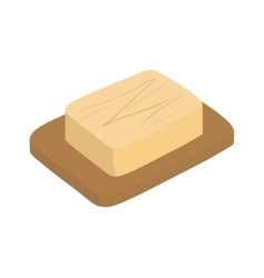 Butter icon Bakery design graphic vector image