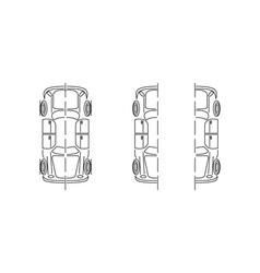 car-parts vector image