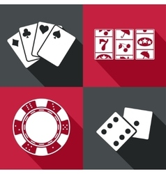 Casino icon Eps10 vector