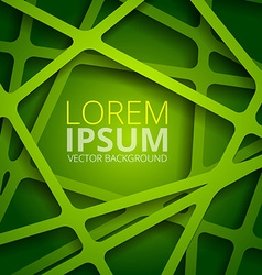Green web texture vector image