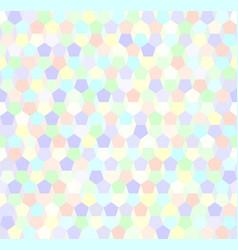 pentagon pattern seamless vector image