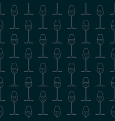 print for bars and restaurants seamless pattern vector image