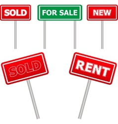 Sale signs vector