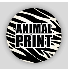 animal print pattern image vector image
