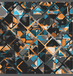 abstract geometric tech eps10 background vector image