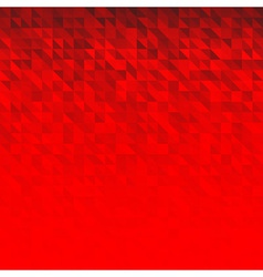 Abstract Red Geometric Technology Background vector